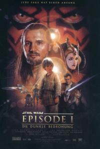 Filmplakat_Star Wars Episode 1 - Die dunkle Bedrohung