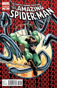 Variant_Cover The Amazing Spider-Man #700 (2nd Printing)