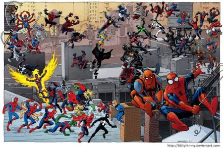 Die vielen Reinkanationen von Spider-Man