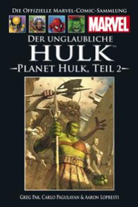 Cover_Der unglaubliche Hulk - Planet Hulk #2