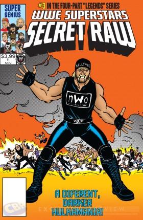 Cover_WWE Superstars Secret Raw (SDCC 2014)